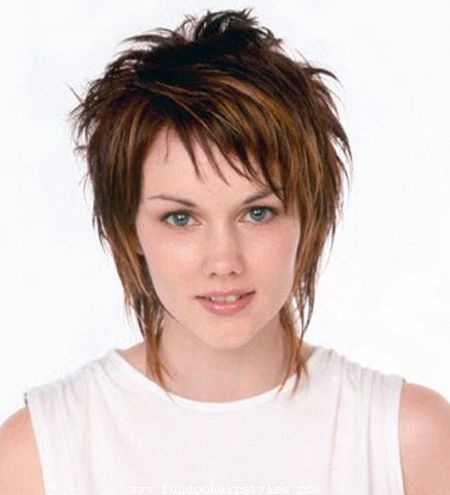 Layered hairstyles with bangs 2018