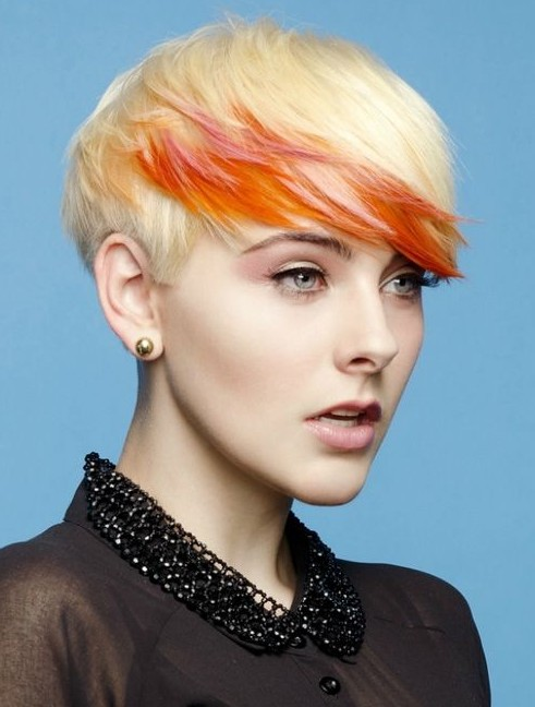 Color Hairstyles For Short Hair - Hairstyle Archives