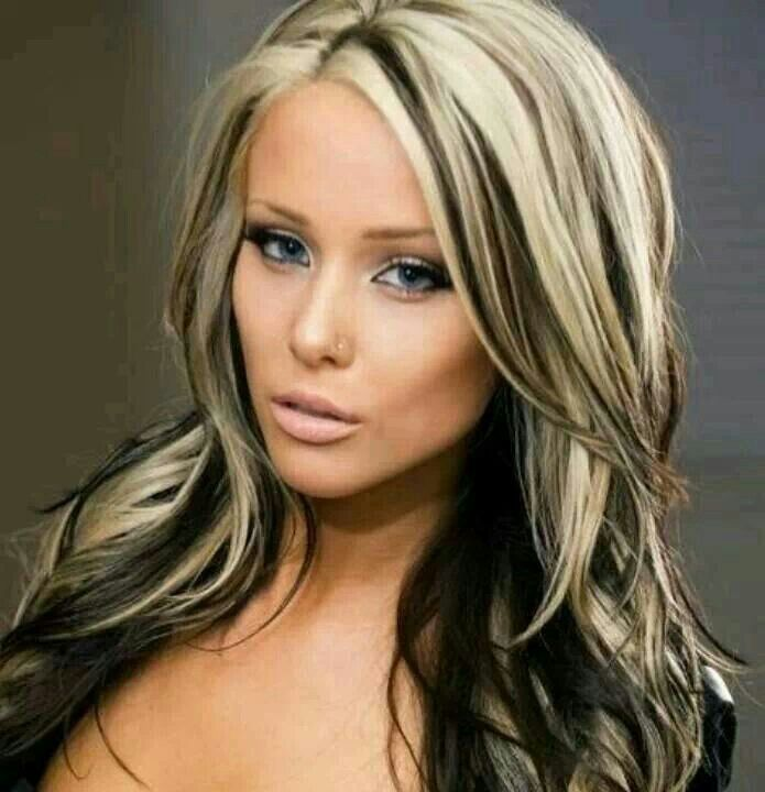 Blonde Hair With Low Lights Color Ideas For Chunky Highlights