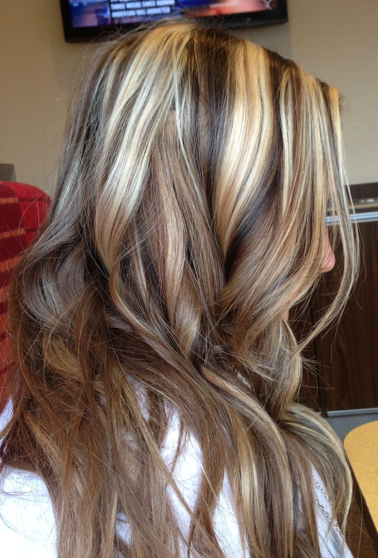 Blonde Hair With Brown Lowlights Hairstyle Archives