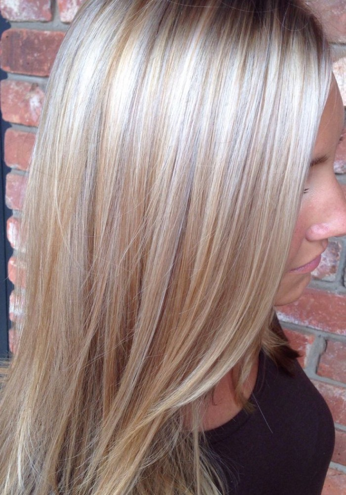 Blonde hair with lowlights hairstyle archives urmus Images