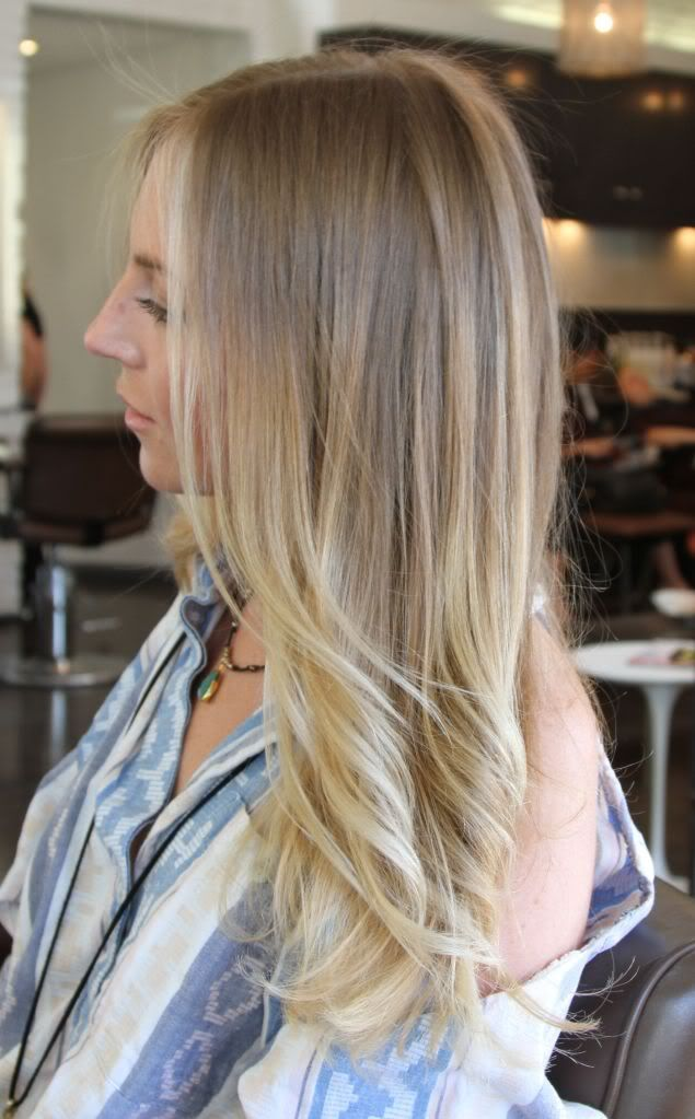 Fine Ombre Hair Blonde Hairstyles For Women Draintrainus