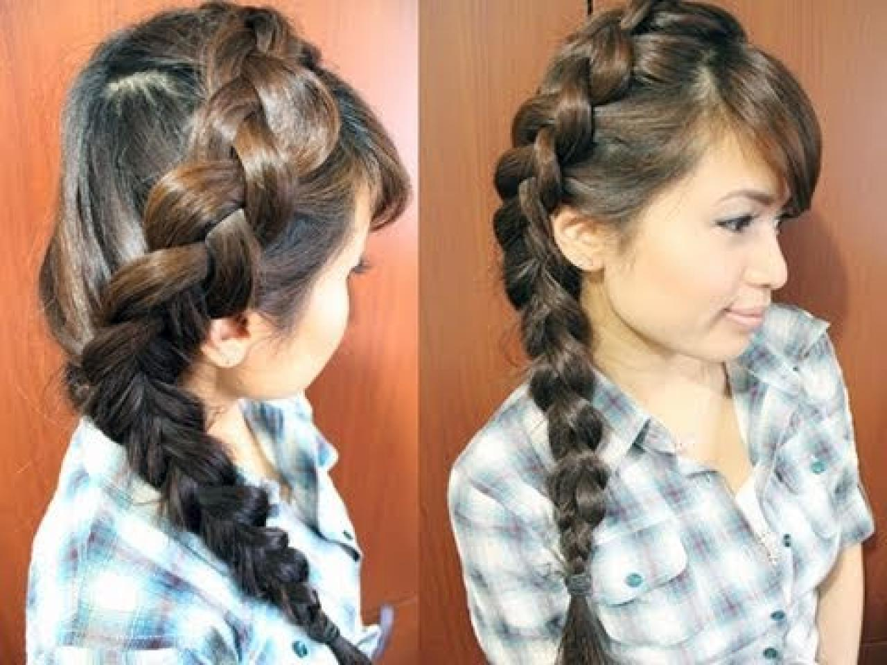 Braid Hairstyle For Long Hair - Hairstyle Archives