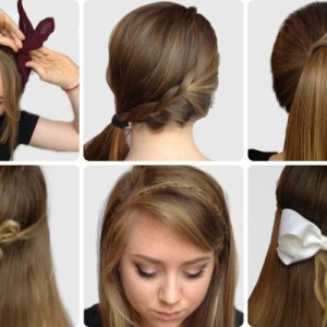 here are some examples of hairstyles that are quite easy