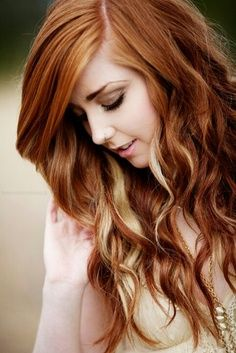 Red hair blonde highlights hairstyle archives pmusecretfo Gallery
