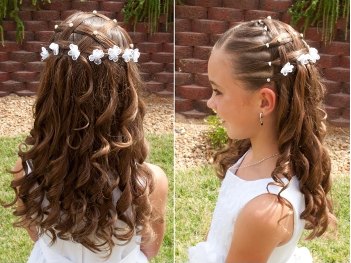 Hairstyle For Little Girls With Long Hair Archives