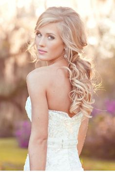 Wedding Hairstyle For Long Hair Down Hairstyle Archives - Wedding hairstyle for long hair down