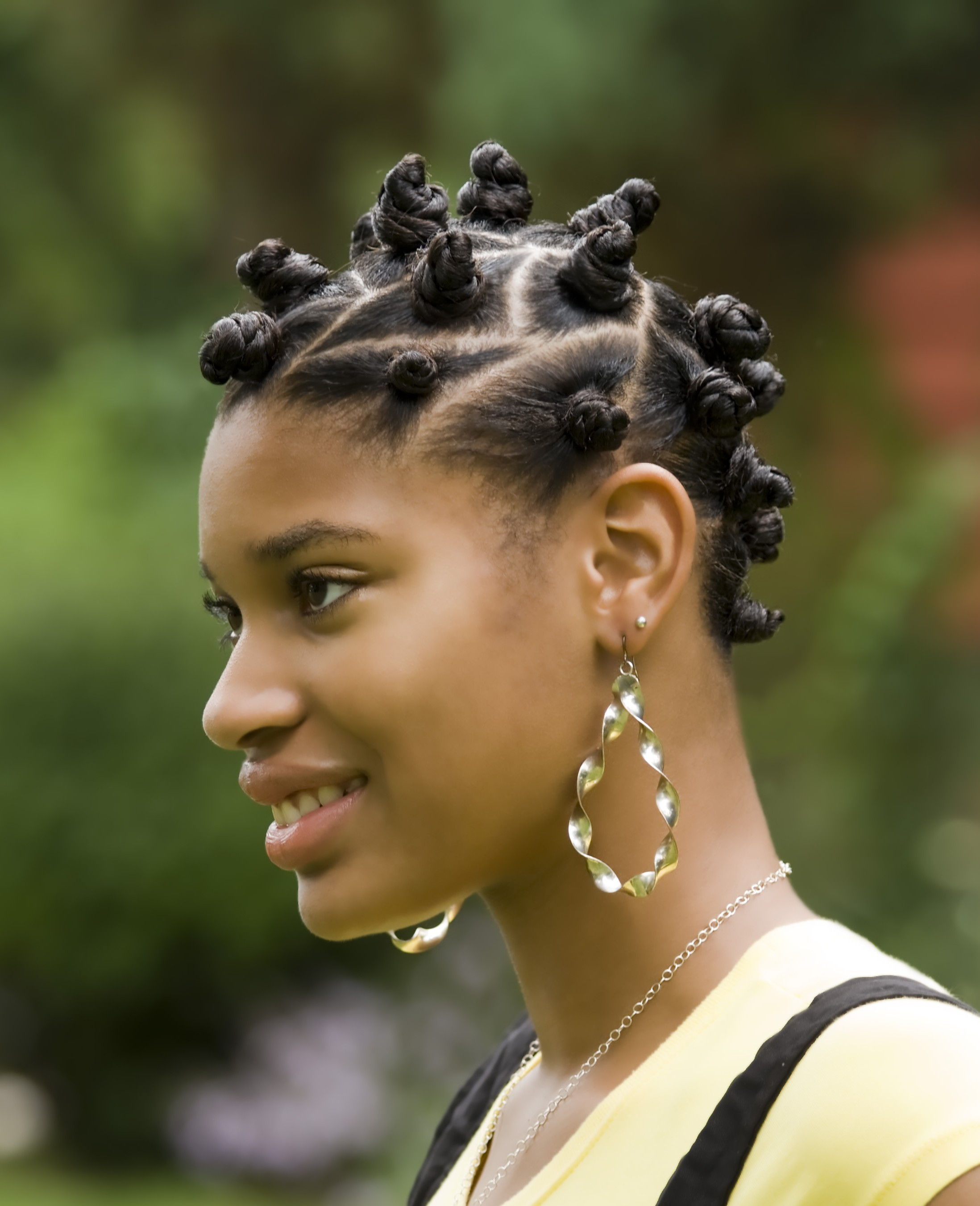 Nubian Knots Hairstyle Archives
