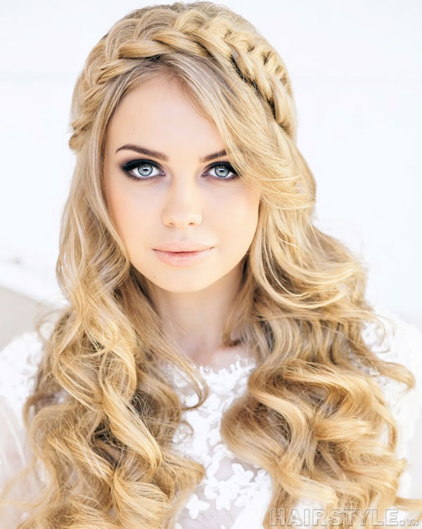 Swell Braids With Wavy Hairstyles Braids Hairstyles For Women Draintrainus