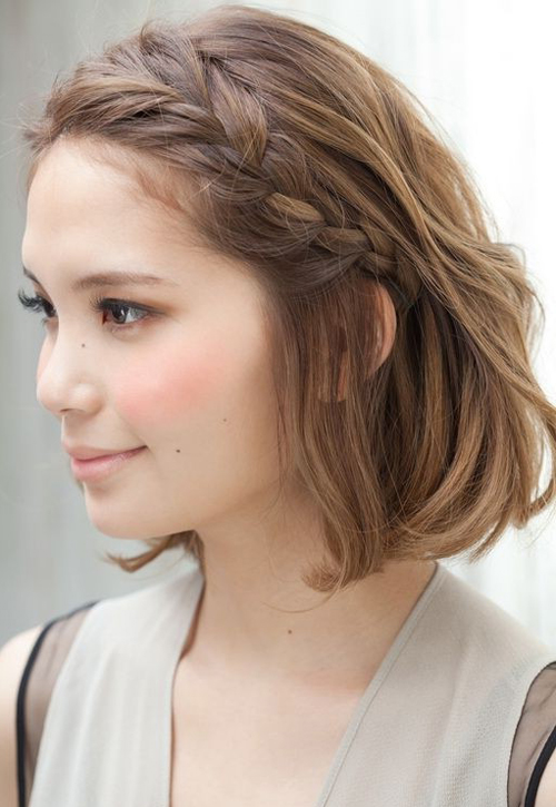 Braided Hairstyle For Short Hair Hairstyle Archives