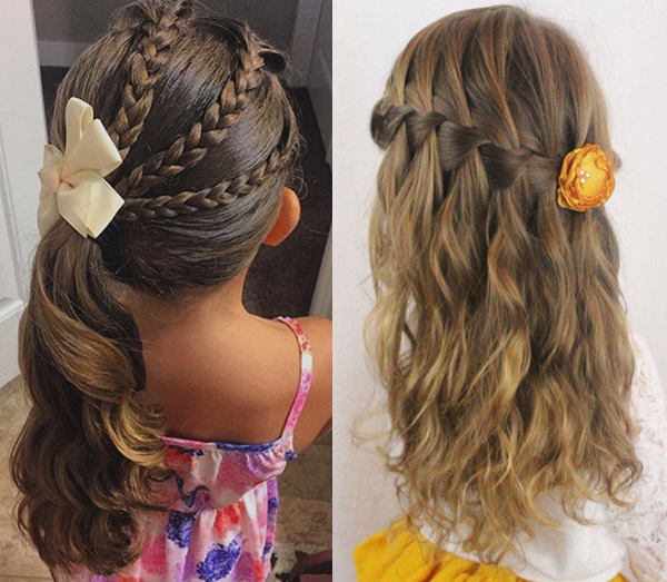 Astounding Cute Hairstyles For Little Girls Hairstyle Archives Hairstyles For Women Draintrainus