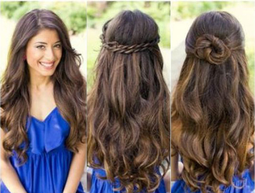Cute hairstyles for long hair hairstyle archives urmus Image collections