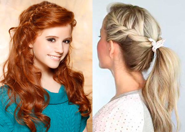 Cute Hairstyles For School Hairstyle Archives
