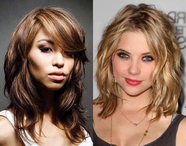 layered haircuts for thick hair