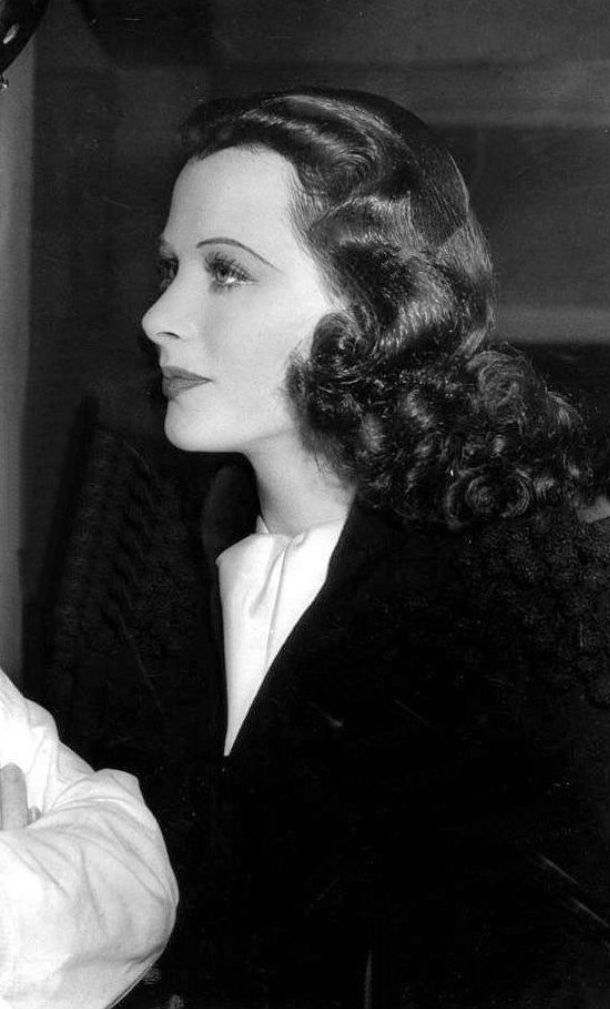 Hedy Lamarr Hairstyle