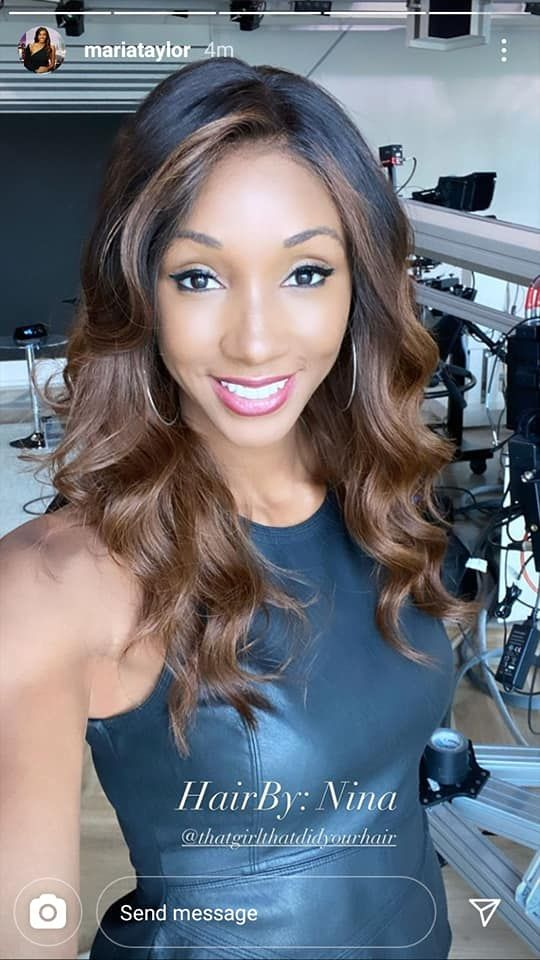 Maria Taylor Hairstyle Pictures
