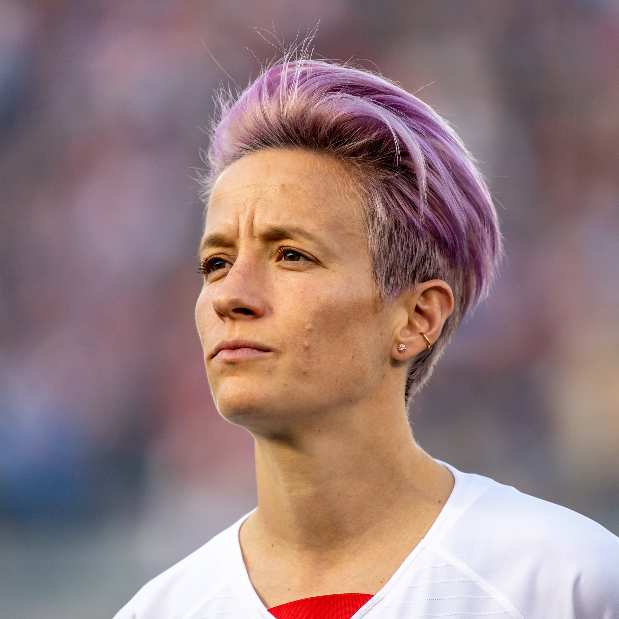 Megan Rapinoe Hairstyle Pictures