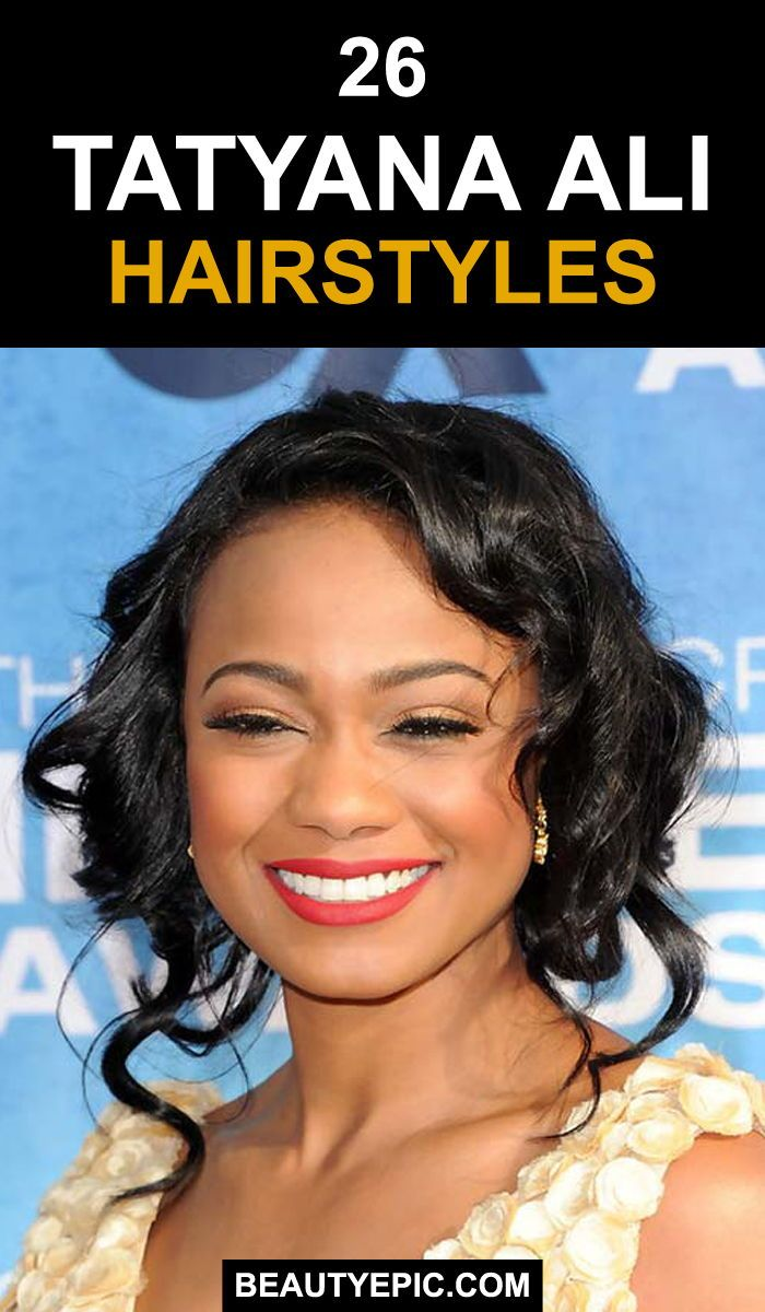 Tatyana Ali Hairstyle Pictures